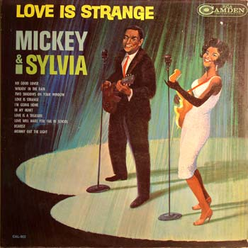 Mickey And Sylvia LP Cover Mono