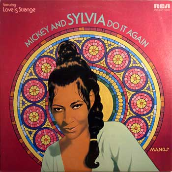 Mickey And Sylvia RCA 1963 LP Cover