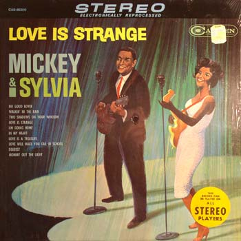 Mickey And Sylvia LP Cover Stereo
