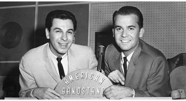 Freddy Cannon With Dick Clark