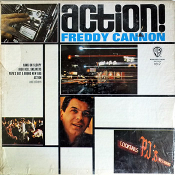 Freddie Cannon - Action Mono LP Cover