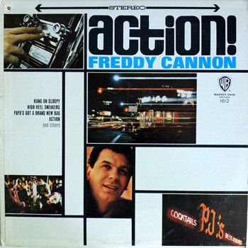 Freddie Cannon - Action Stereo LP Cover