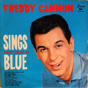 Freddy Cannon - Sings Happy Shades Of Blue LP Cover