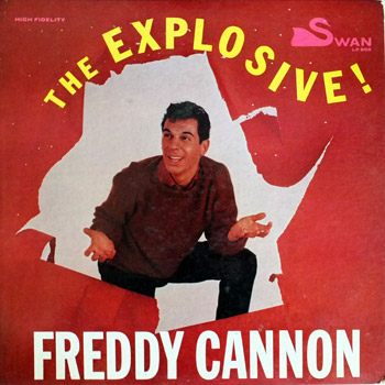 Freddy Cannon - Explosive LP Mono Cover