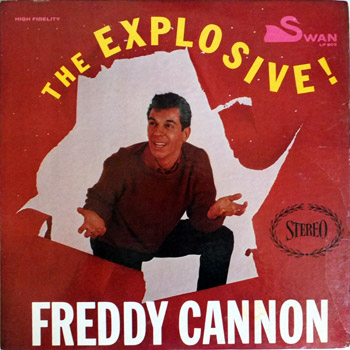 Freddy Cannon - Explosive LP Stereo Cover