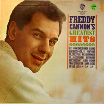 Freddy Cannon - Greatest Hits LP Mono Cover