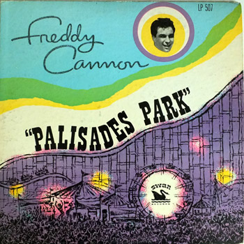 Freddy Cannon - Palisades Park LP Cover