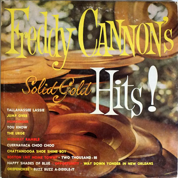 Freddy Cannon - Freddy Cannon's Greatest Hits LP Cover
