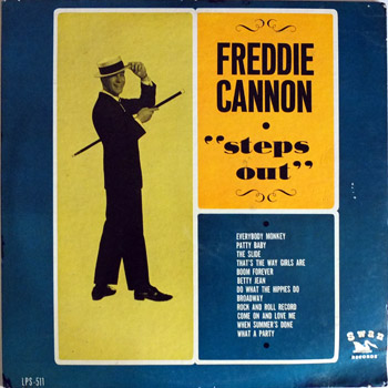 Freddie Cannon - Steps Out LP Cover