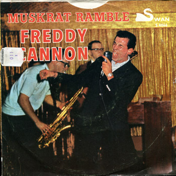 Freddy Cannon - Muskrat Ramble Sleeve