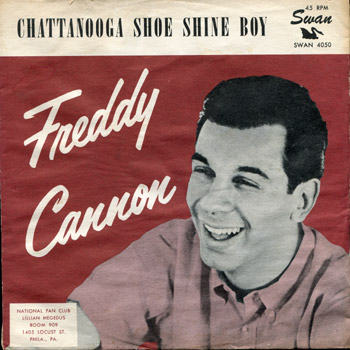 Freddy Cannon - Chatanooga Shoe Shine Boy Sleeve