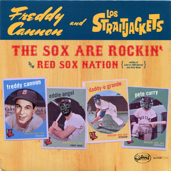 Freddy Cannon -Los Straighjackets The Sox Are Rockin Front Cover