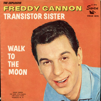 Freddy Cannon - Transister Sister Sleeve Front