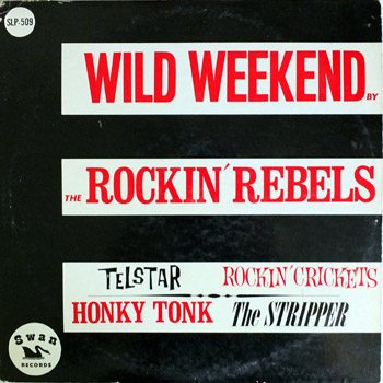 Rockin Rebels LP Cover Stock