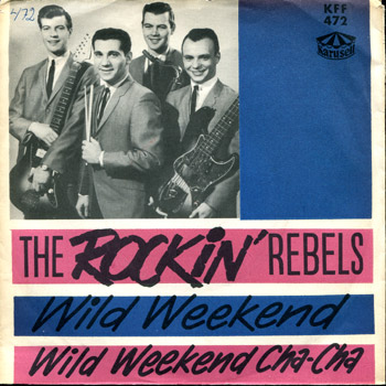 Rockin Rebels - Wild Weekend Sweden EP Cover
